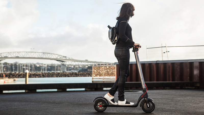 Electric Scooter Story: Raana from Exhibition Hire