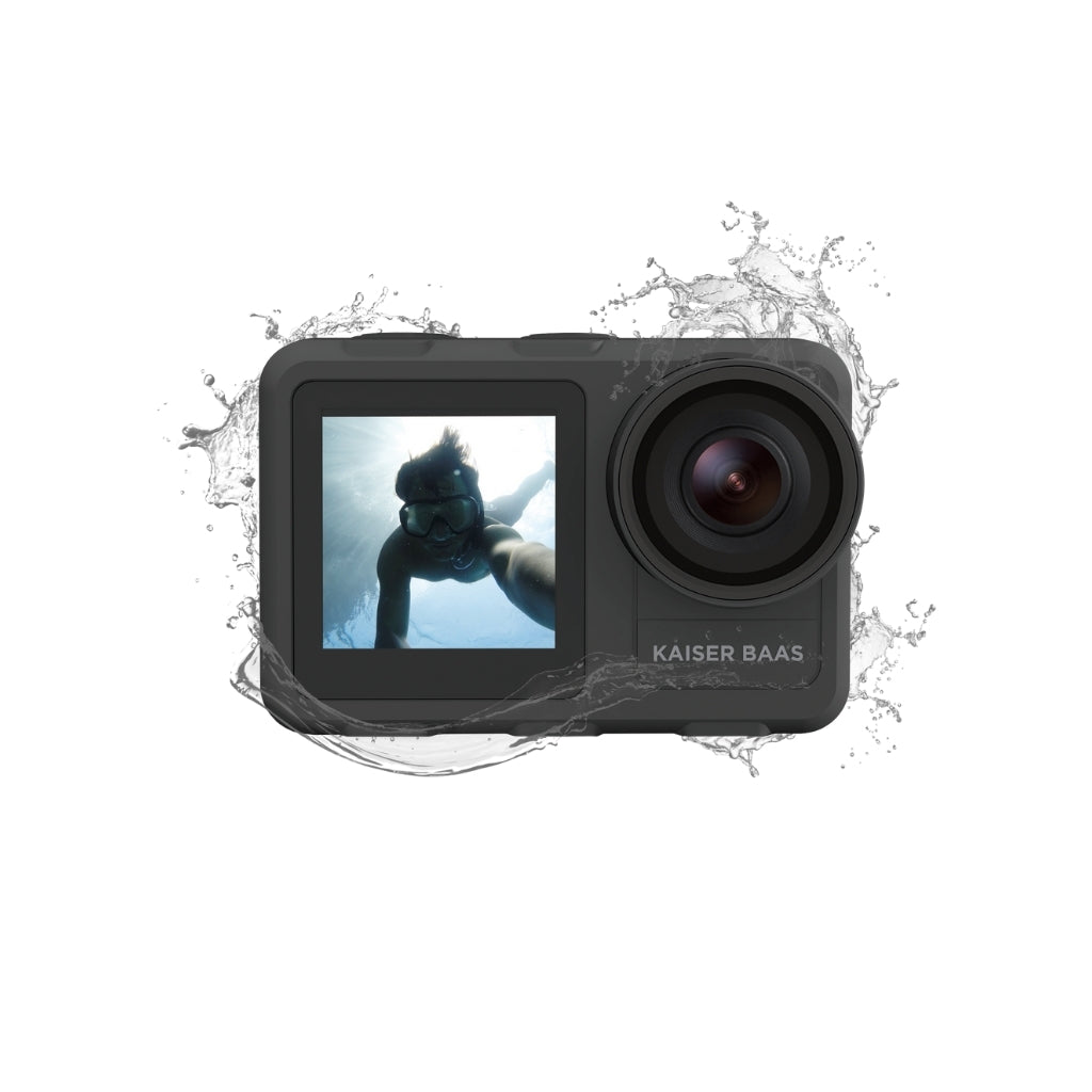 X650 4K Dual Screen Action Camera
