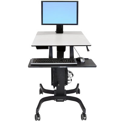 Ergotron Sit-Stand Workstation On Wheels, 24-215-085 (includes shipping)