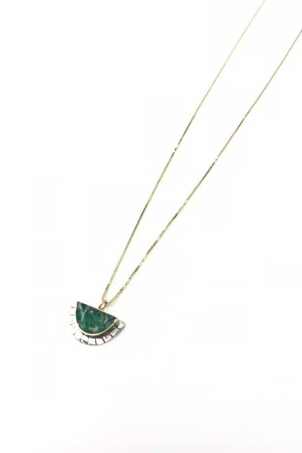 Variscite Selene Necklace