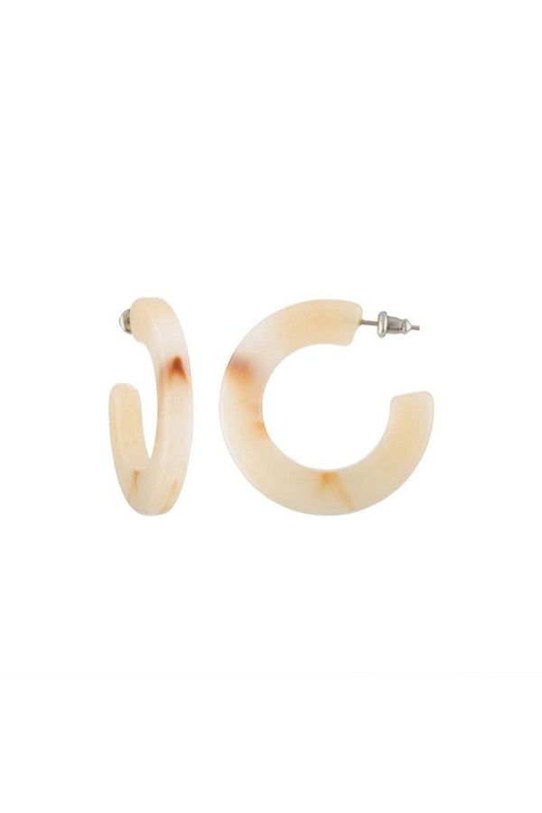 Peach Kate Hoops