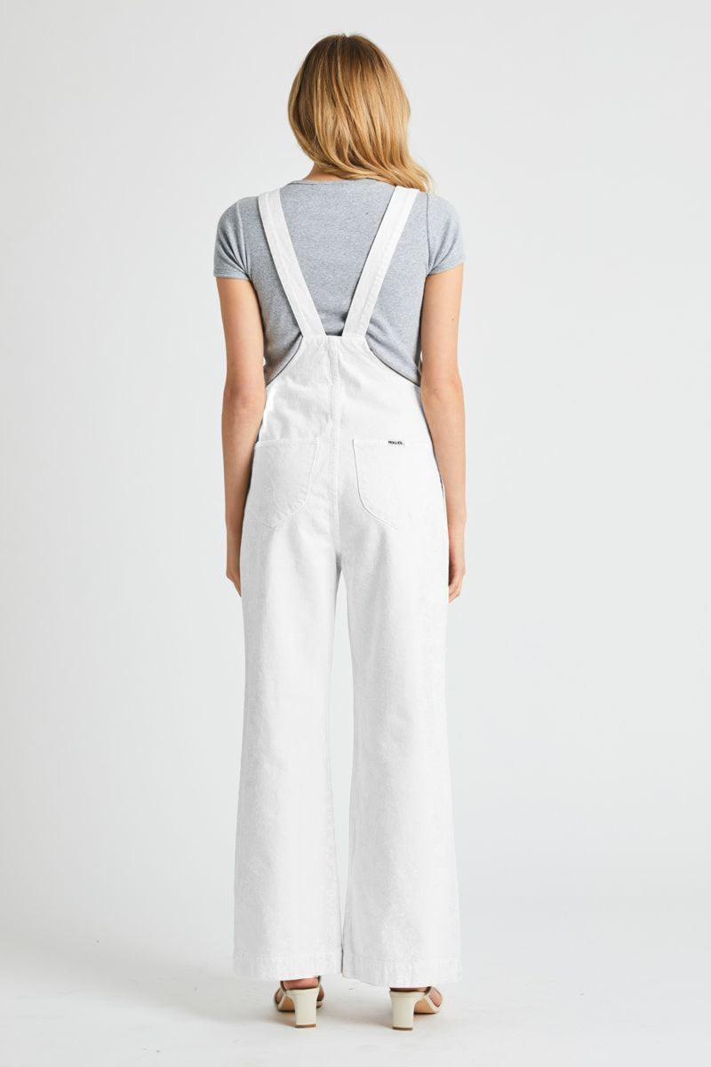 Vintage White Old Mate Overall