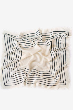 White Wool Agnes Scarf