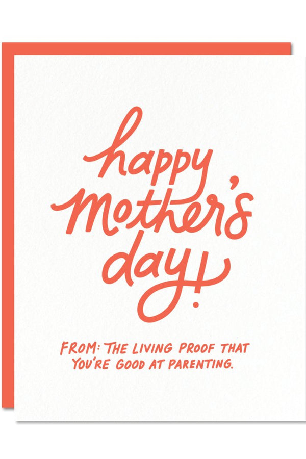 Mother's Day Living Proof Card