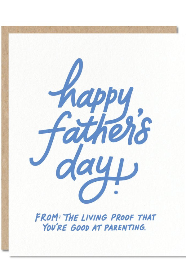 Father's Day Living Proof Card