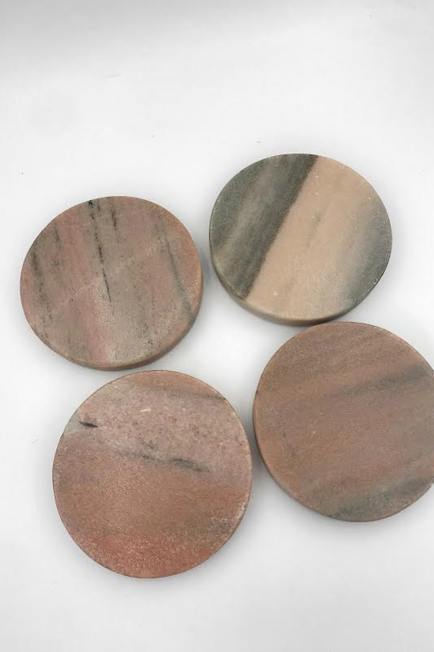 Rose Marble Coasters