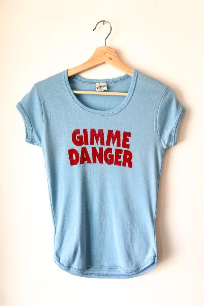 Blue Gimme Danger Tee