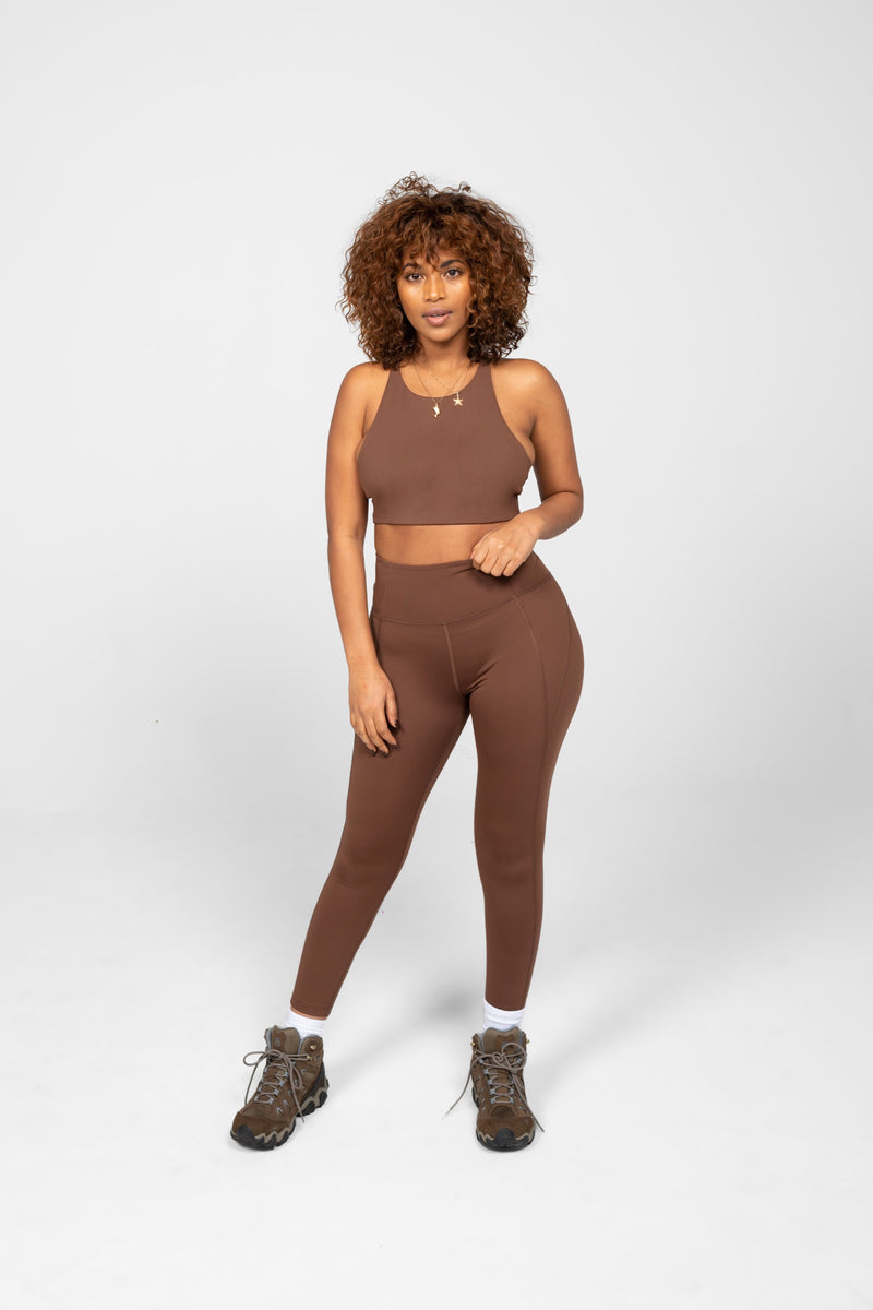 "28.5"" Valley Compressive High-Rise Legging"