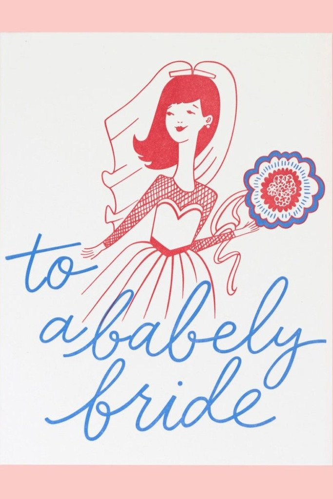 Babely Bride Card