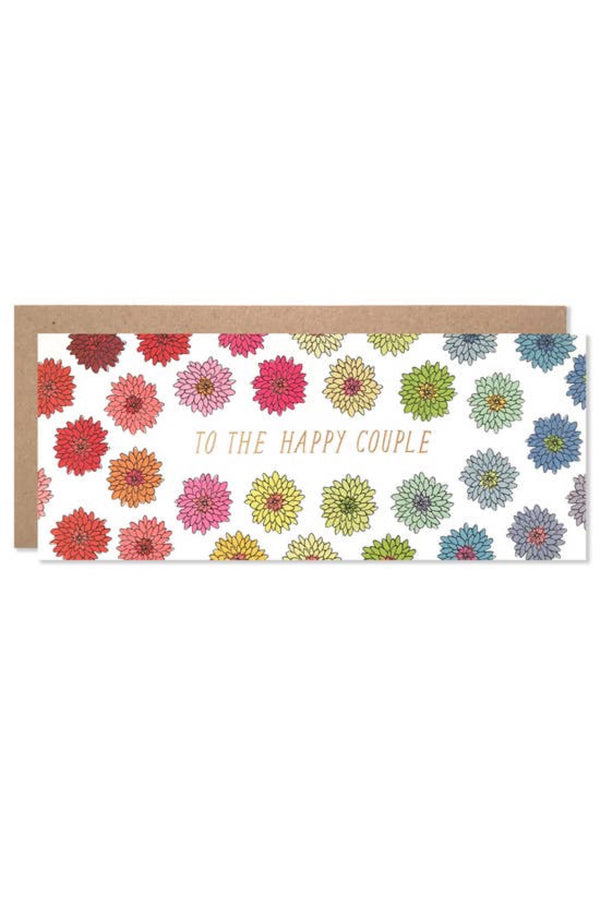 To The Happy Couple Florals Card