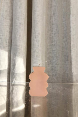 Peach Shapes Candle