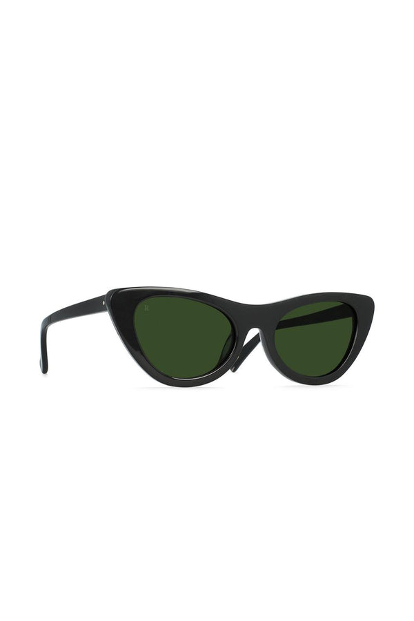 Black Flora Sunglasses