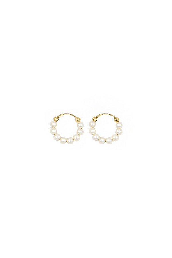 Pearl Holly Hoops