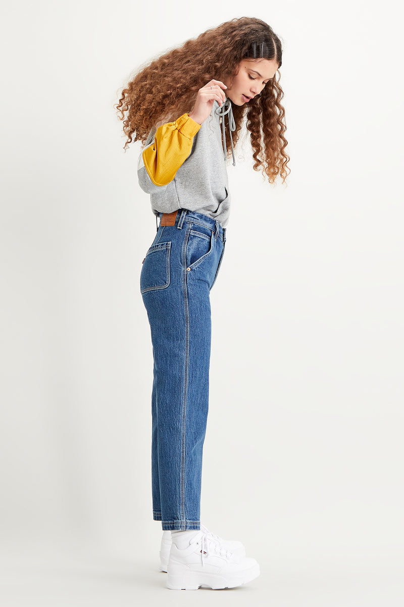 Nine To Five Ribcage Utility Jeans