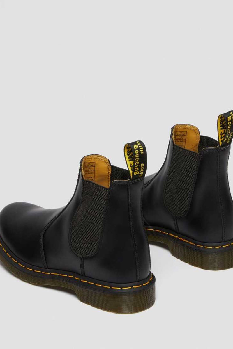 Black Smooth 2676 Chelsea Boot