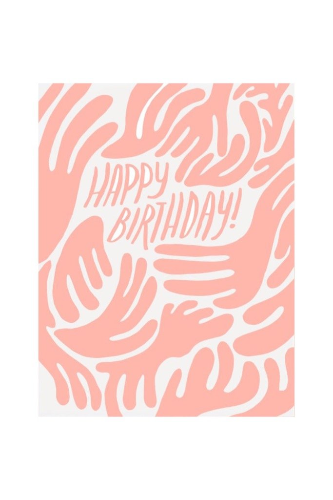 Blob Birthday Card