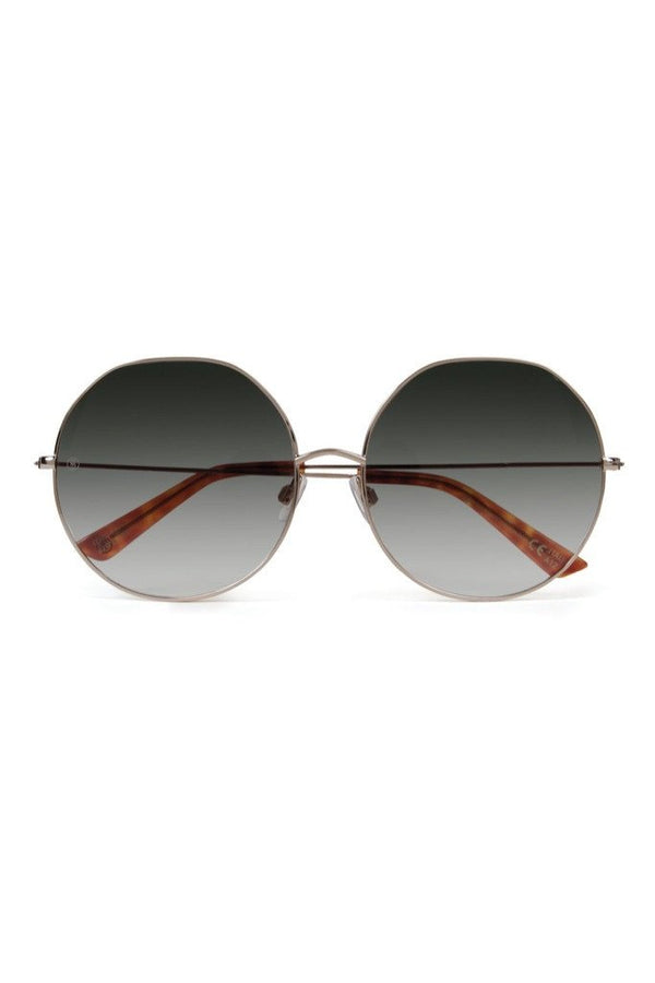 Sonic Bloom Gold Olive Sunglasses