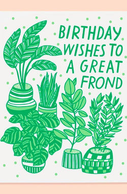 Great Frond Card