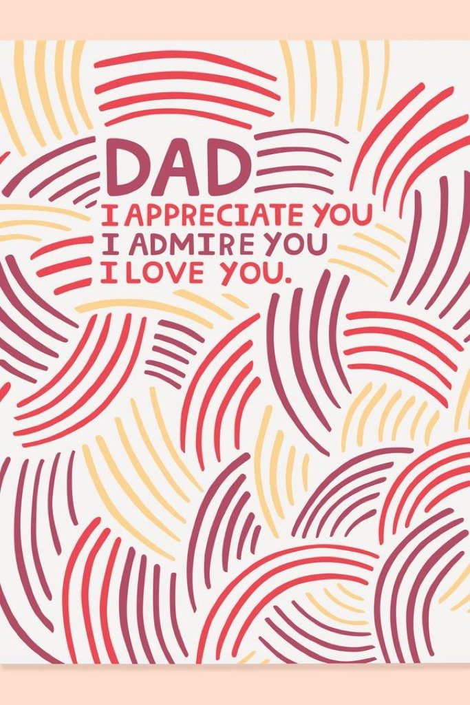 Appreciate Dad Card