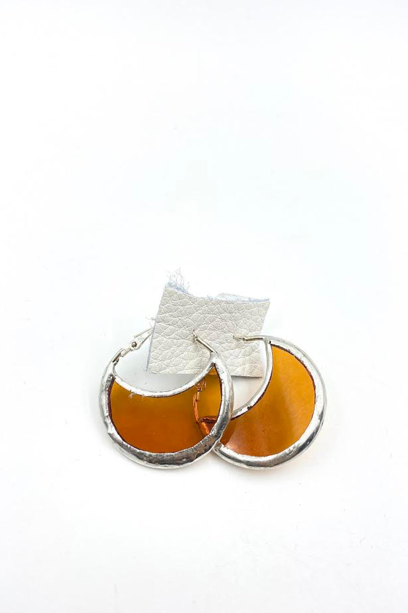 Amber Vanessa Earrings