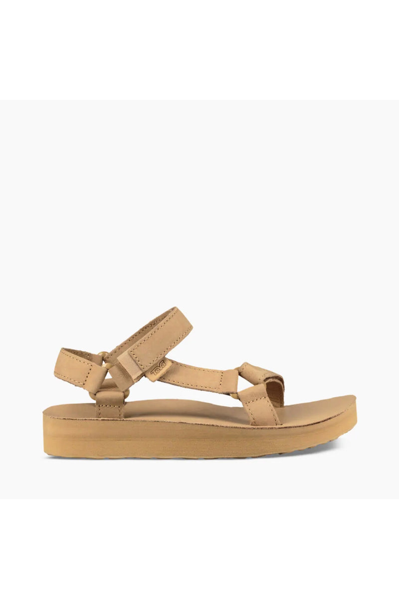 Desert Sand Midform Leather Sandal