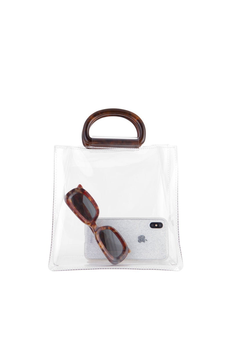 Transparent Mini Tote