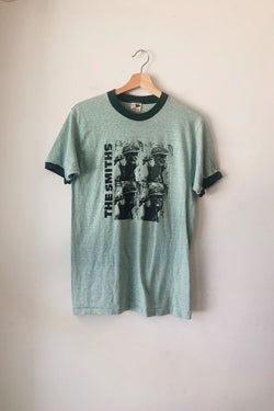 Green The Smiths Ringer Tee