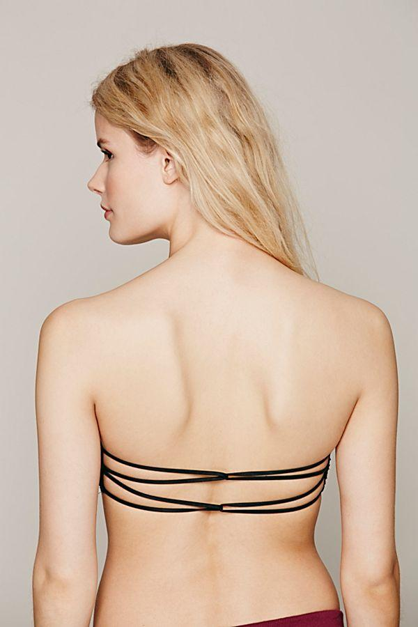 Black Essential Bandeau