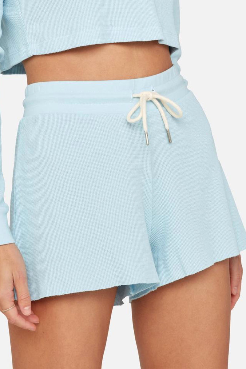 Pale Blue Lincoln Thermal Shorts