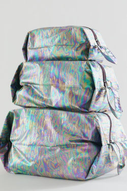 Rainbow Metallic 3D Zip Set