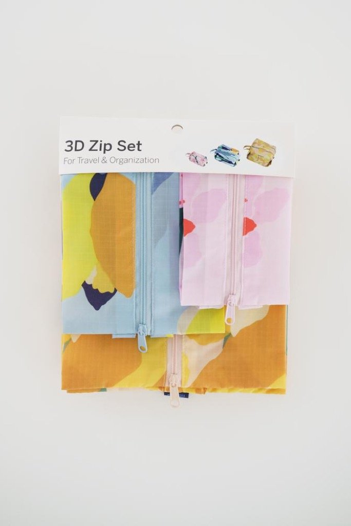 Spring Flowers 3D Zip Set
