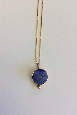 Lapis Solis Necklace