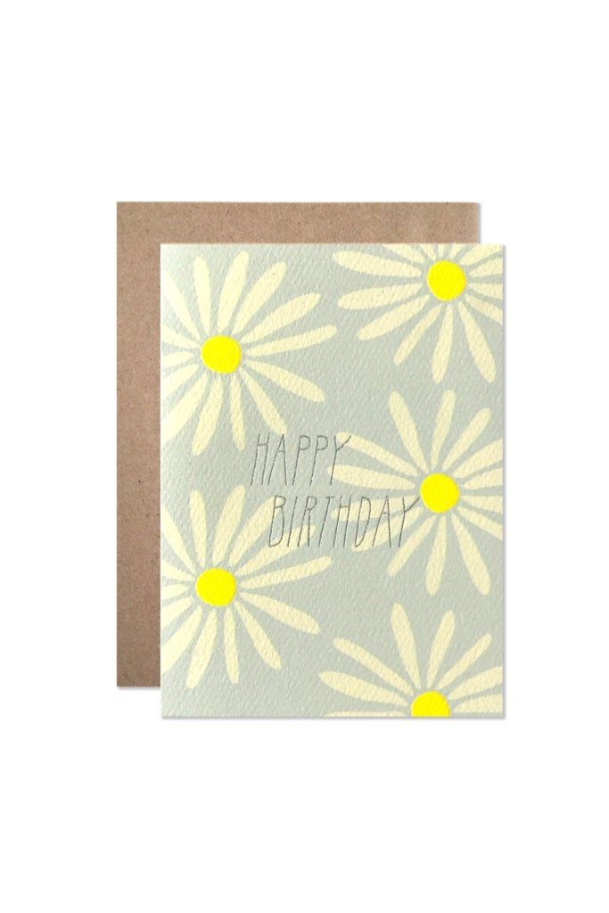 Birthday Daisies Card