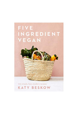 Five Ingredient Vegan Book