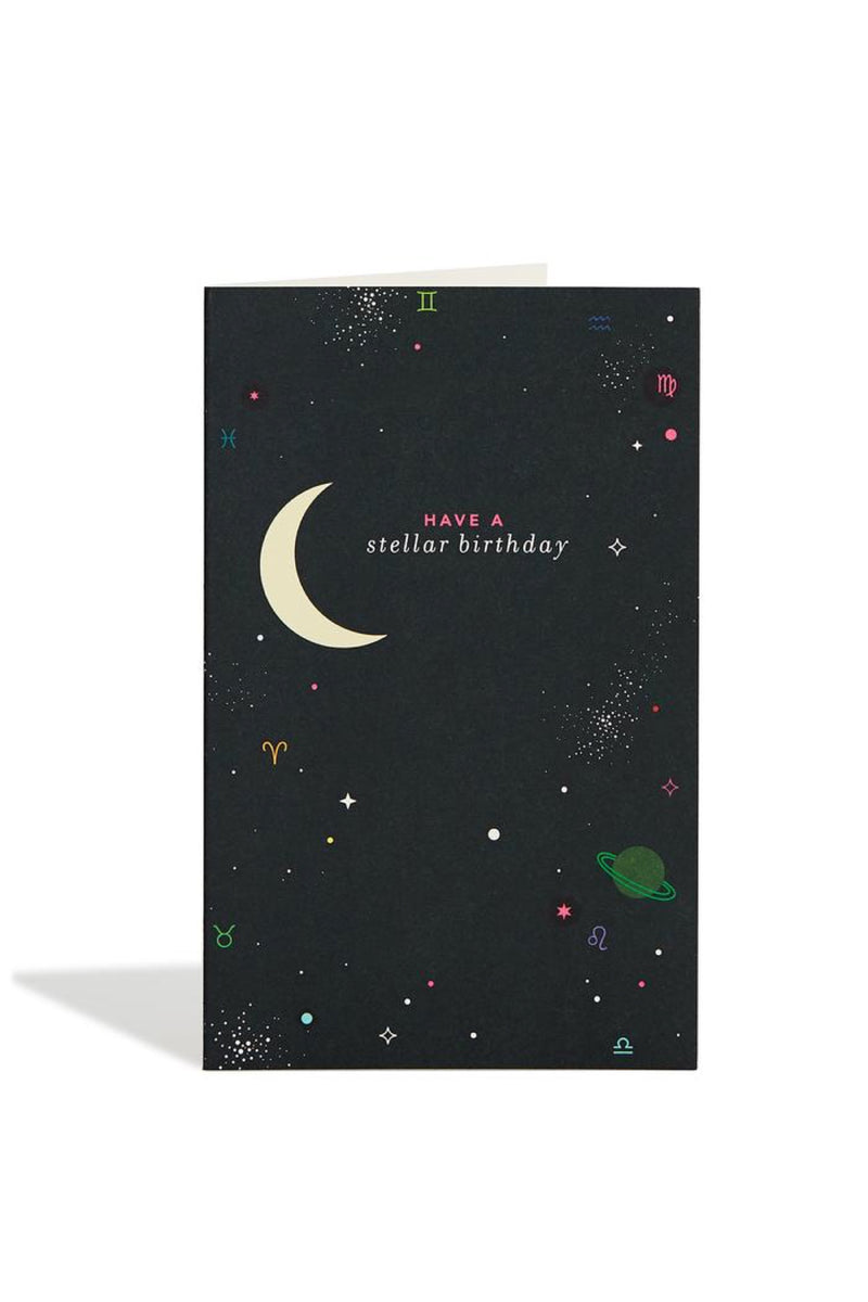 Birthday Outerspace Card