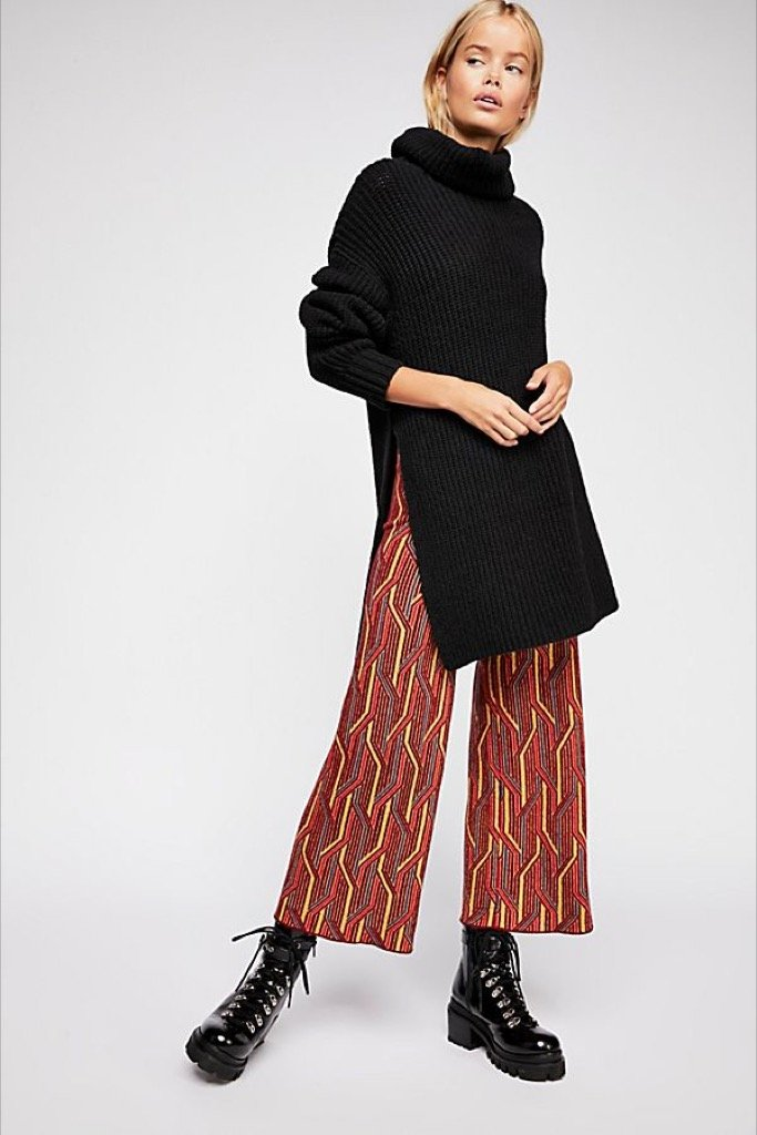 Alina Pull On Wide Leg Pant