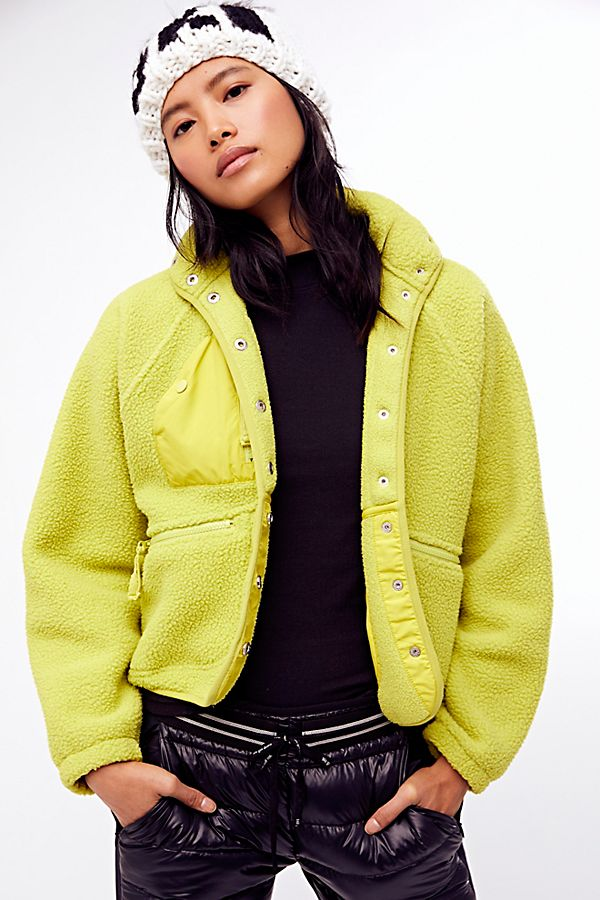 Lime Hit The Slopes Jacket