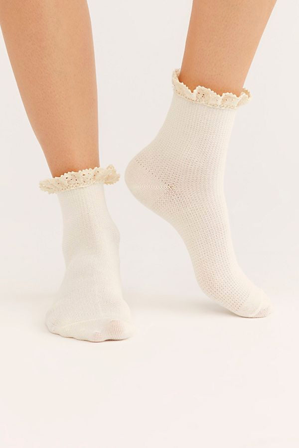 Ivory Darling Socks