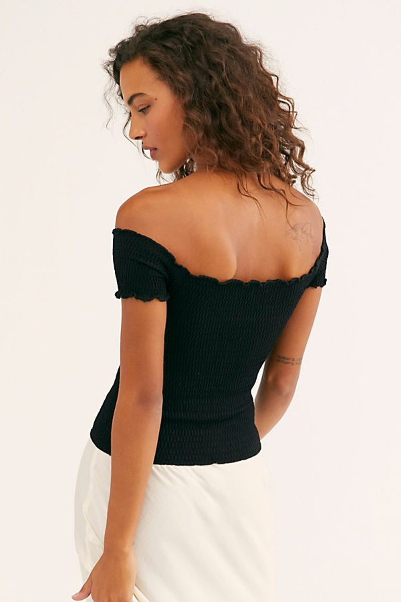 Black Moulin Ruched Cami