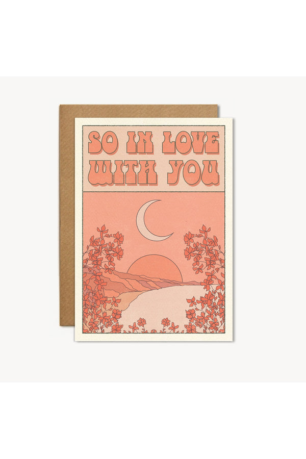 So In Love With You Card