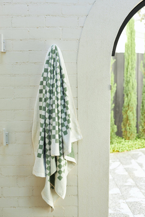 Sage Roman Pool Towel