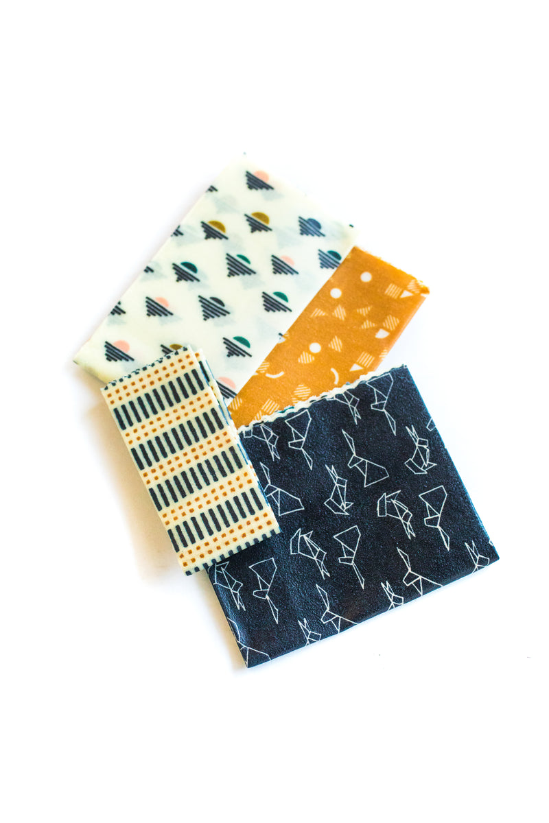 Gilded Sunset Beeswax Food Wraps