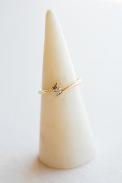 Gold Modernist Ring