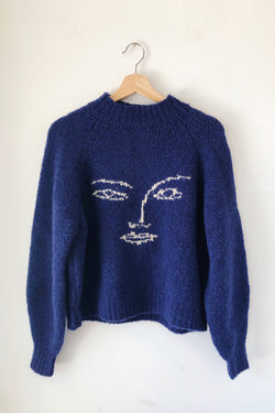 Navy Piero Sweater