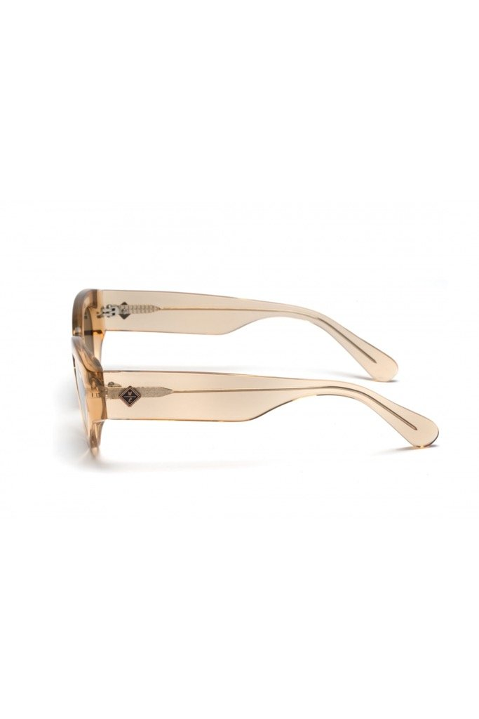 Clear Beach Glass Bombay Beach Sunglasses