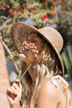 Natural Palm Canyon Hat