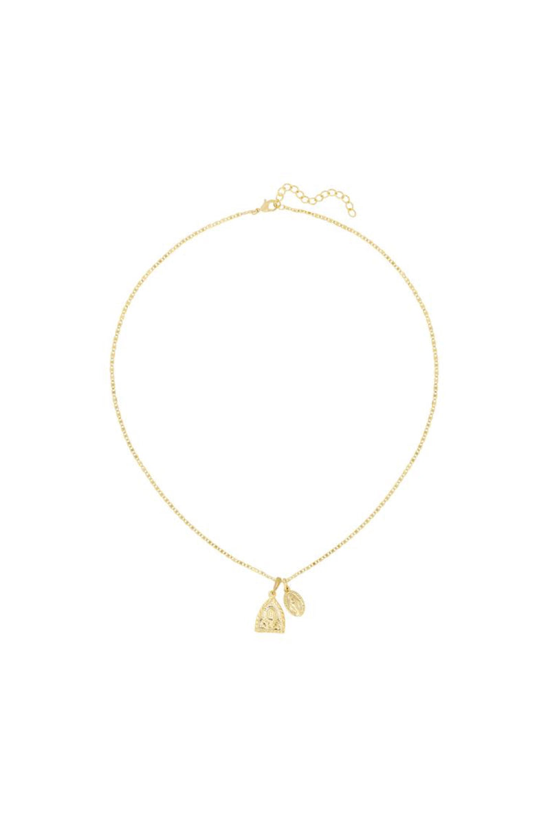 Gold Andrea Necklace