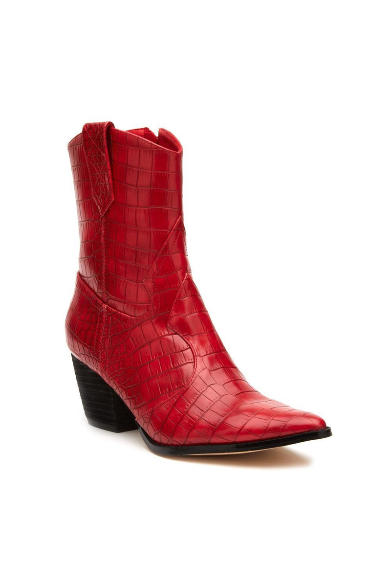 Red Bambi Boot