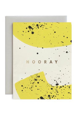 Speckled Hooray Card