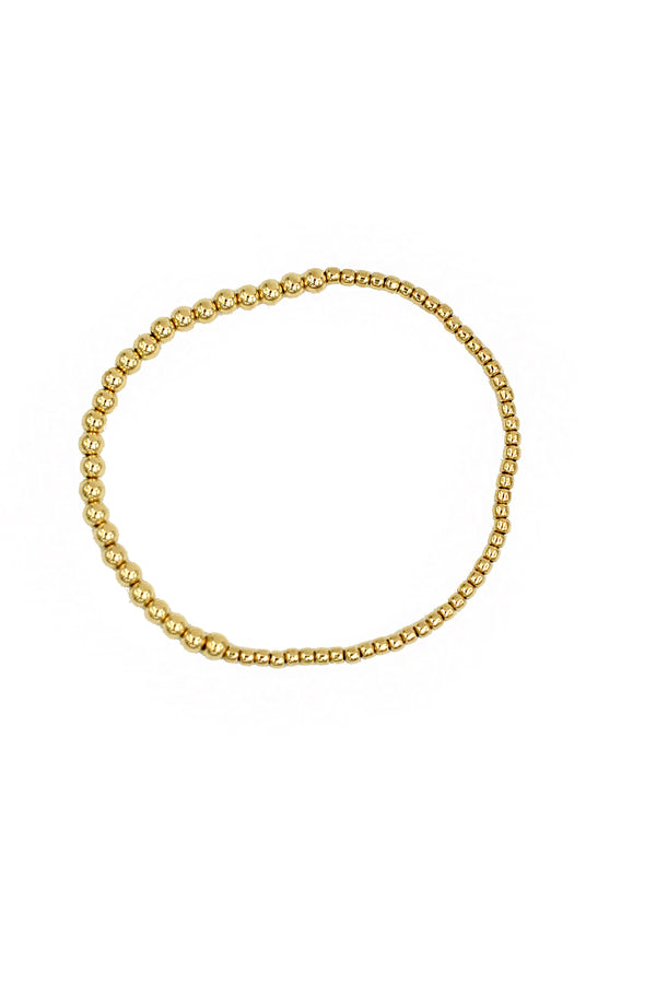 Gold Small Bauble Bracelet